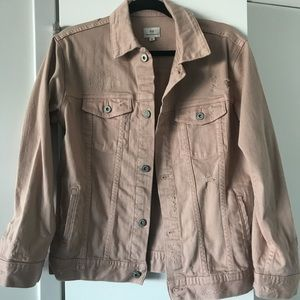 Women's Small AG Jeans Distressed Nancy Jacket